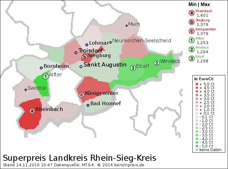 Benzinpreis Köln